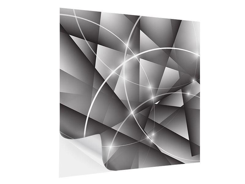 Klebeposter Geometrie