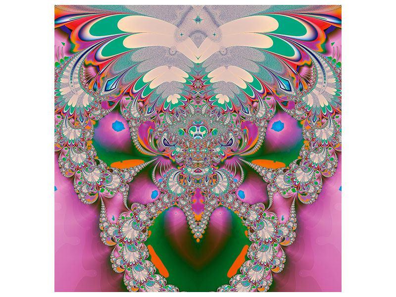 Klebeposter Fraktal Design