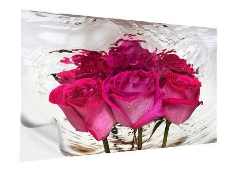 Klebeposter Die Rosenspiegelung