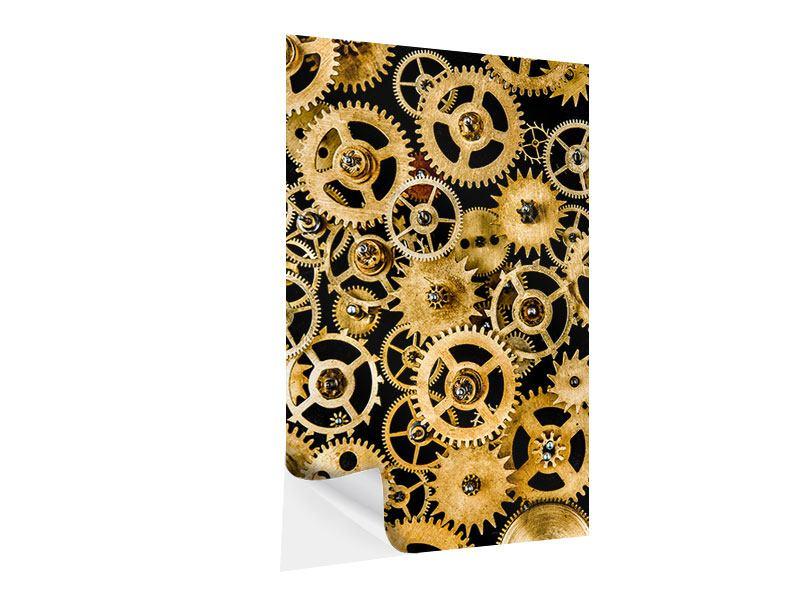 Klebeposter Clockwork