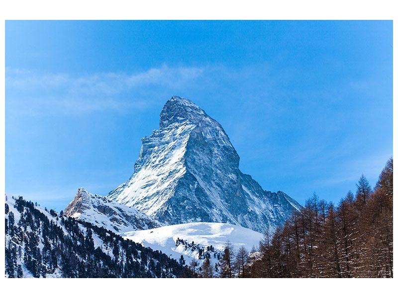 Klebeposter Das majestätische Matterhorn