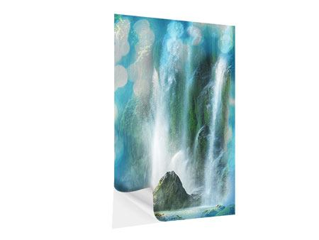 Klebeposter Im Wasserfall