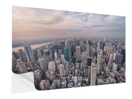 Klebeposter Skyline Blick über Manhattan