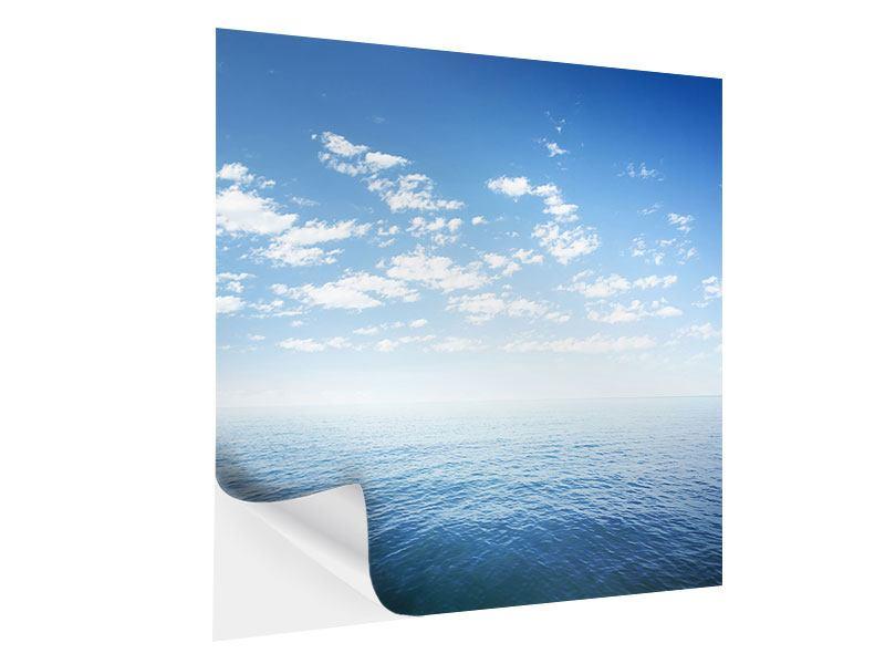 Klebeposter Unendlichkeit Meer