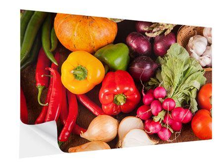 Klebeposter Gemüsefrische