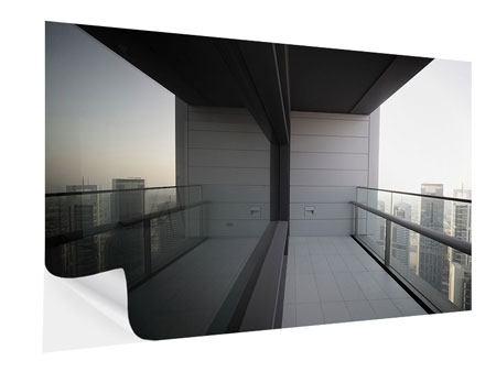 Klebeposter Balkon in Dubai