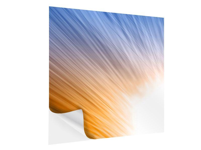 Klebeposter Abstraktes Lichterspiel