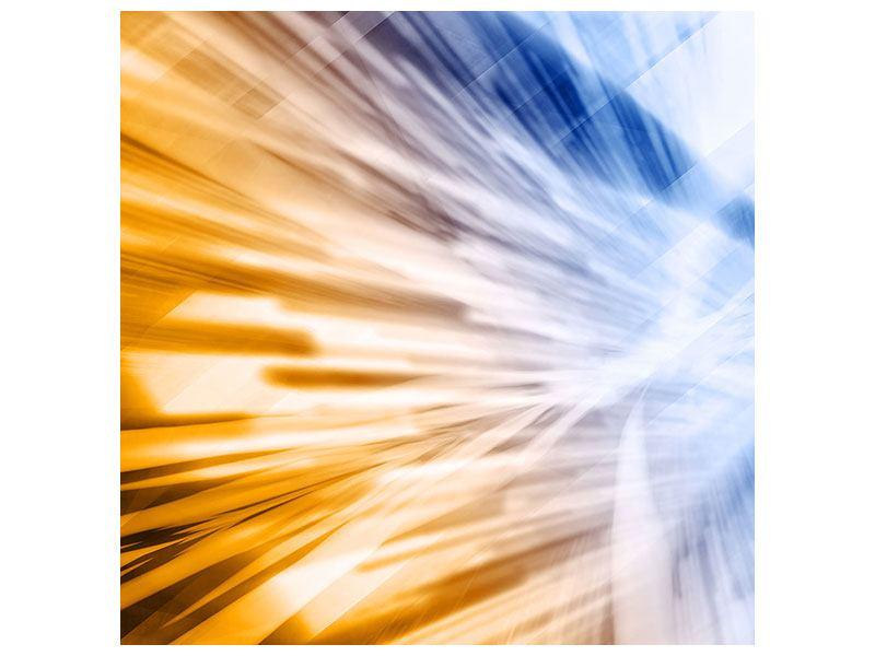 Klebeposter Abstrakte Galaxie