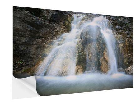 Klebeposter Imposanter Wasserfall