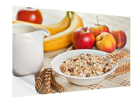 Klebeposter Frühstück