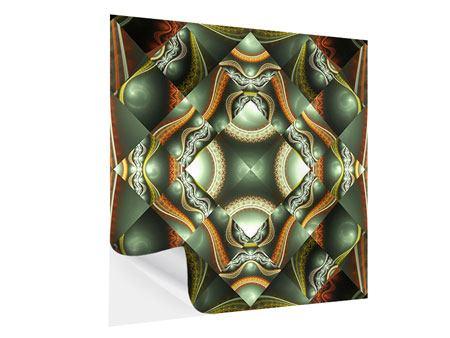 Klebeposter Fraktales Bild