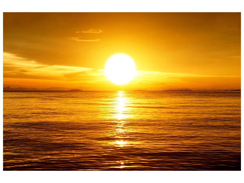 Klebeposter Traumhafter Sonnenuntergang