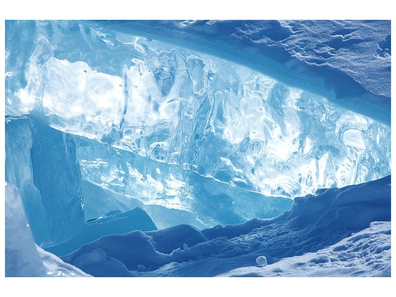 Klebeposter Baikalsee-Eis