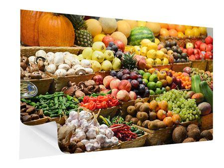 Klebeposter Obstmarkt