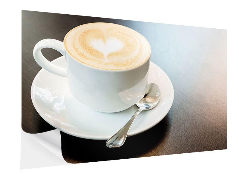 Klebeposter Lieblingskaffee