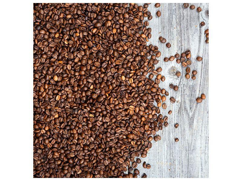 Klebeposter Kaffeebohnen