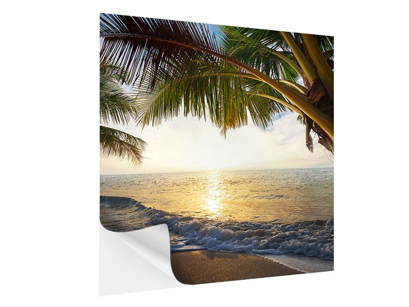 Klebeposter Strandsicht