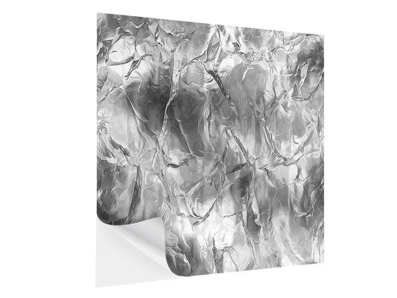 Klebeposter Eiswand