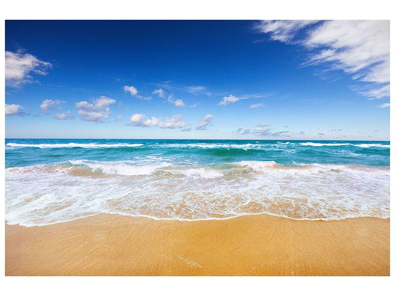 Klebeposter Die Gezeiten und das Meer