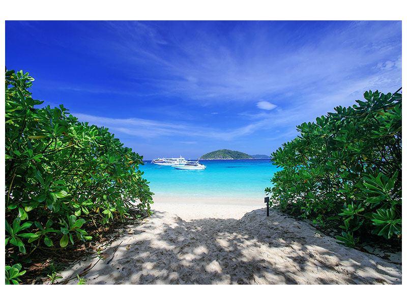 Klebeposter Similan-Inseln