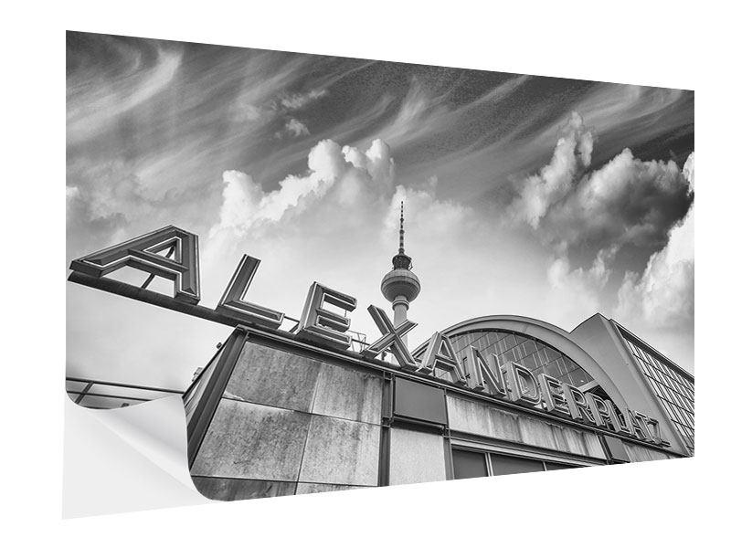 Klebeposter Alexanderplatz