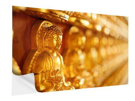 Klebeposter Buddhas