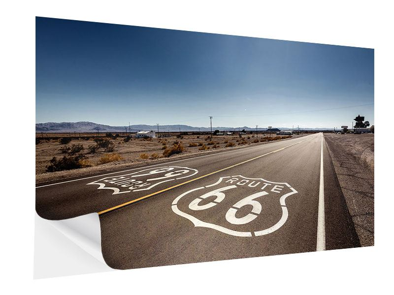 Klebeposter Route 66