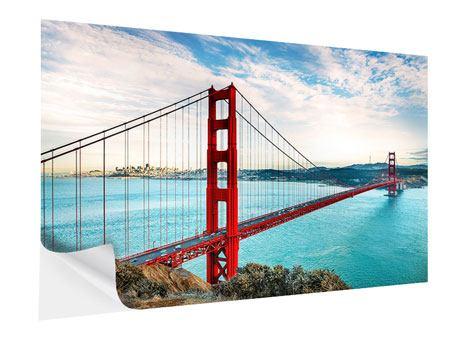 Klebeposter Golden Gate Bridge
