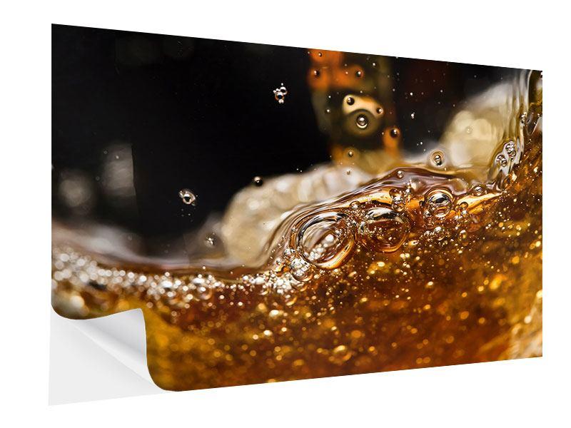 Klebeposter Cognac