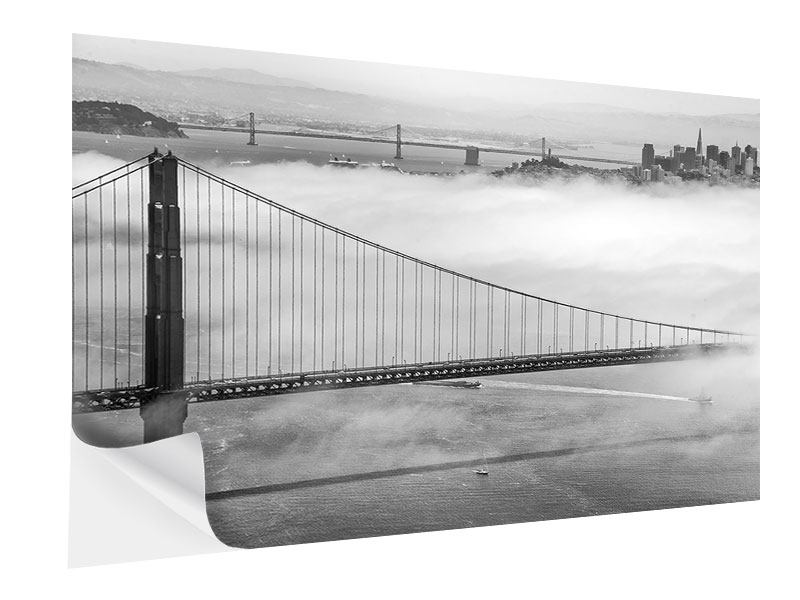 Klebeposter Golden Gate Brücke