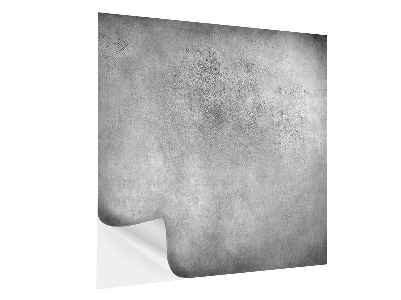 Klebeposter Graue Wandschattierungen