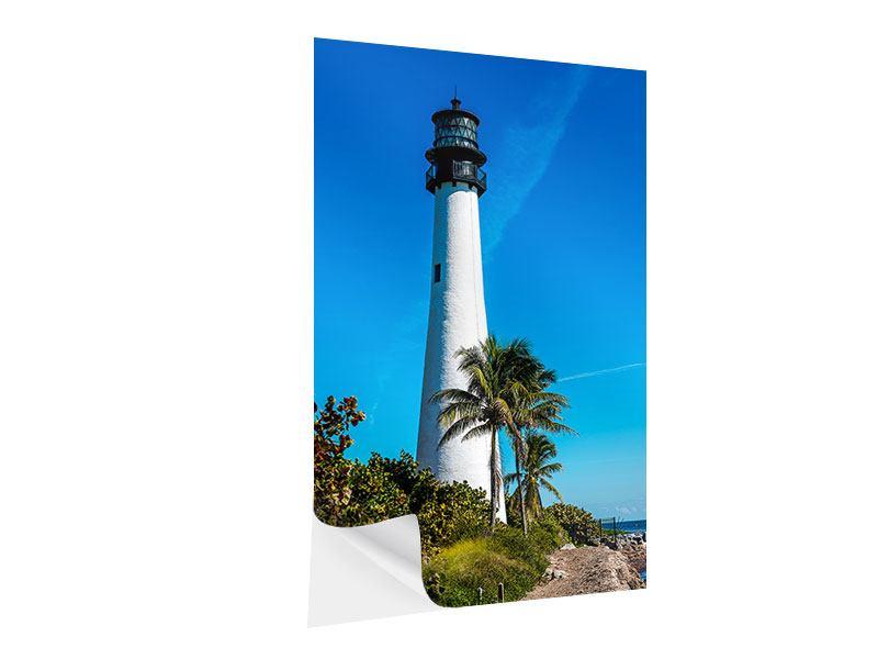 Klebeposter Leuchtturm