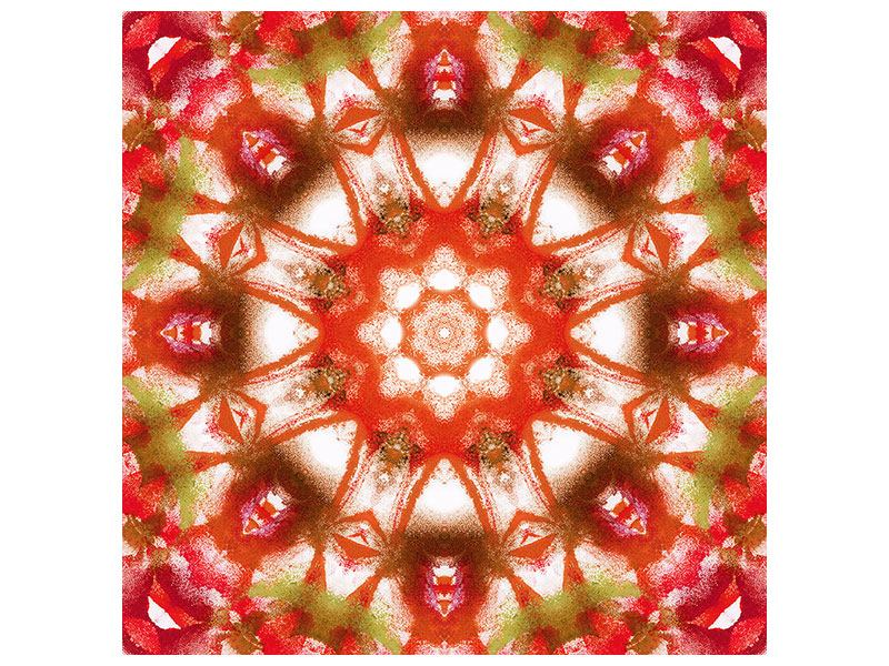Klebeposter Geometrisches Gemälde