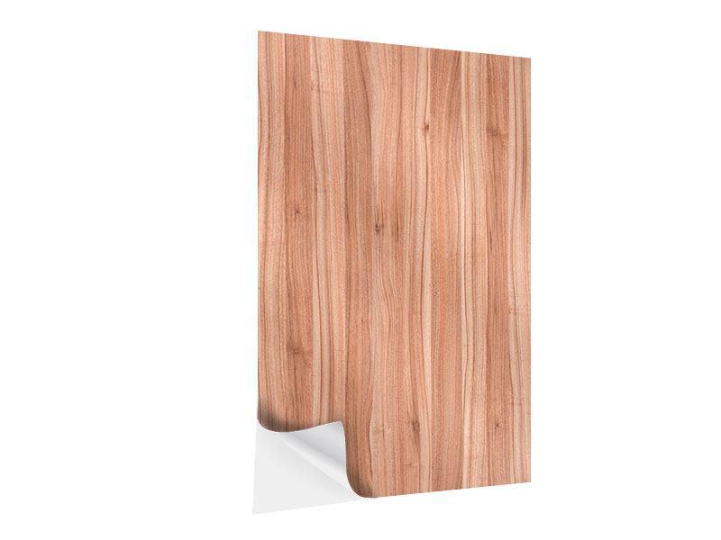 Klebeposter Holzdesign
