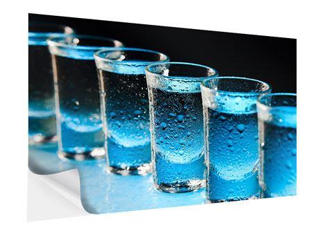 Klebeposter Wodka Pur