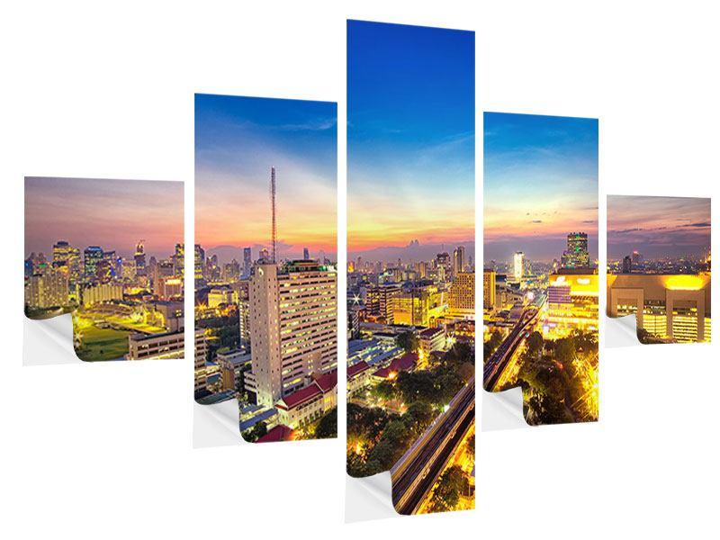 Klebeposter 5-teilig Bangkok