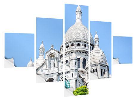 Klebeposter 5-teilig Paris- Montmartre