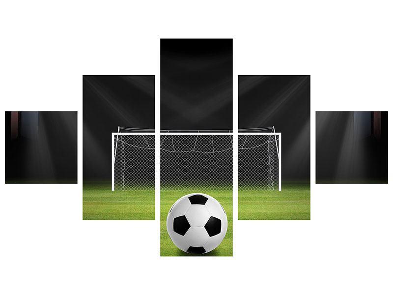 Klebeposter 5-teilig Fussball-Tor