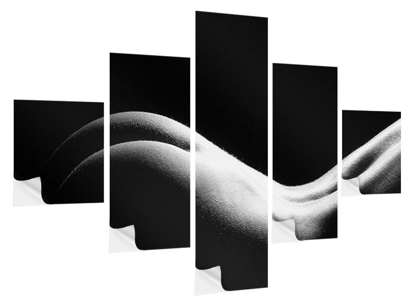 Klebeposter 5-teilig Nude