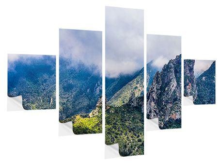 Klebeposter 5-teilig Der stille Berg