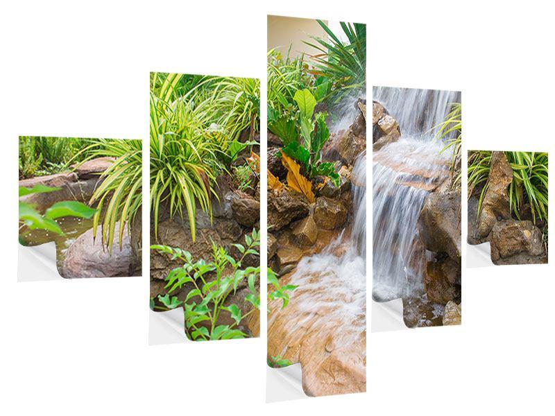 Klebeposter 5-teilig Paradiesgarten
