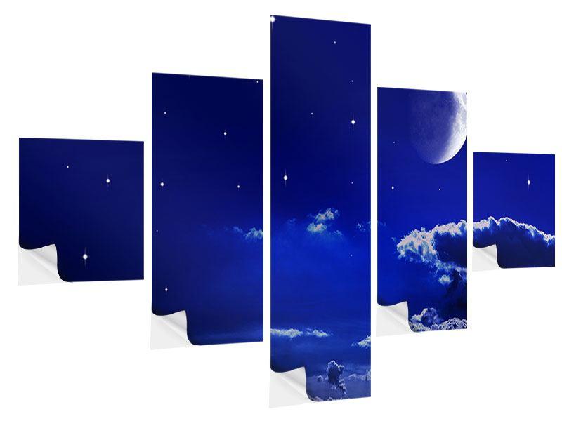 Klebeposter 5-teilig Der Nachthimmel