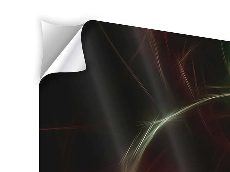 Klebeposter 5-teilig Fraktales Lichtspektakel