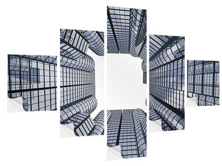 Klebeposter 5-teilig Besondere Perspektive