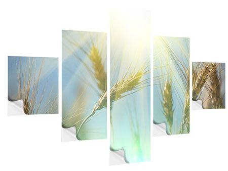 Klebeposter 5-teilig König des Getreides