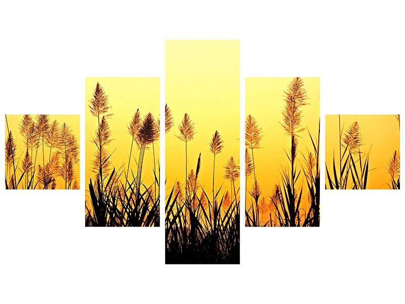 Klebeposter 5-teilig Die Blumen des Feldes