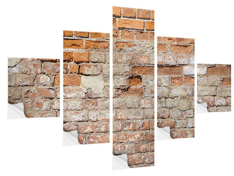 Klebeposter 5-teilig Alte Klagemauer