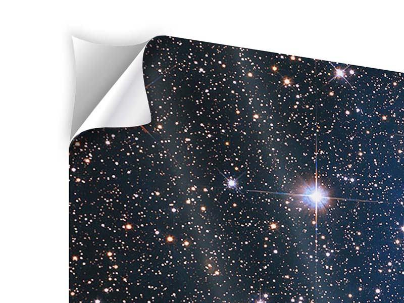 Klebeposter 5-teilig Sternenhimmel