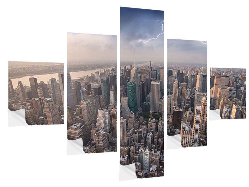 Klebeposter 5-teilig Manhattan