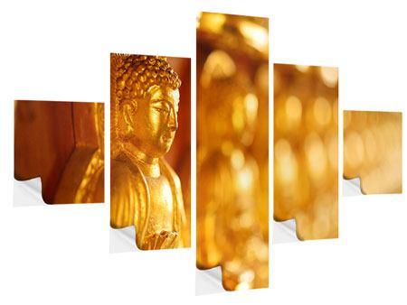 Klebeposter 5-teilig Buddhas